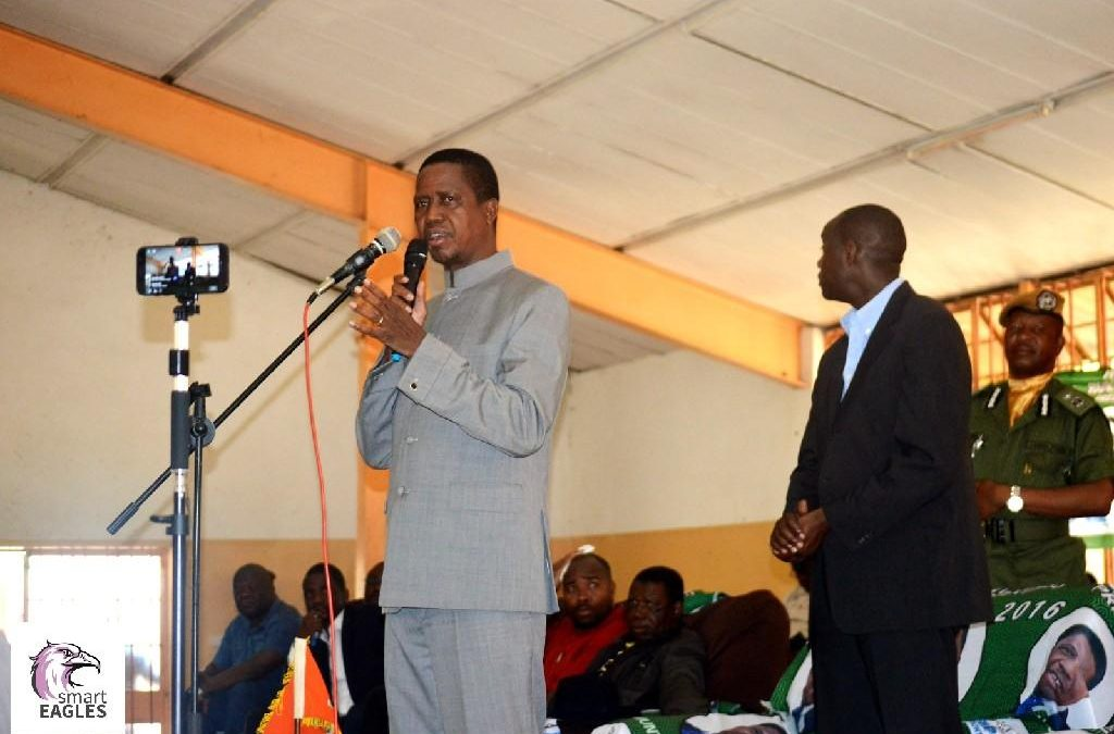 President Lungu, the Chief Diplomat warns against xenophobia