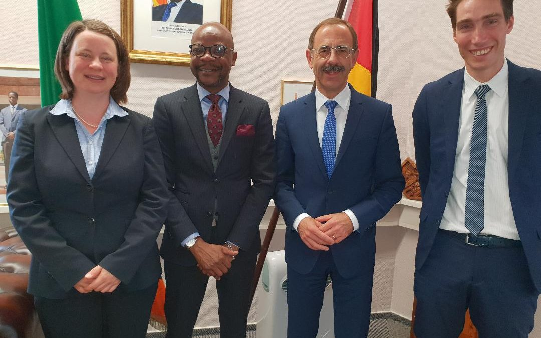Germany donates to refugees in Zambia, again!