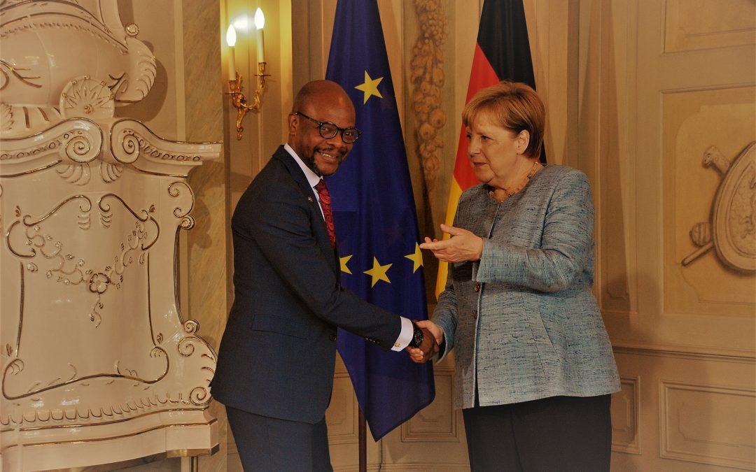 German Chancellor fetes diplomats