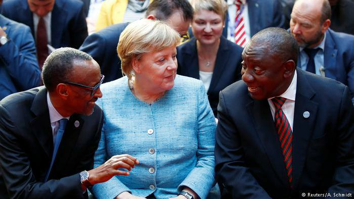 12 African leaders in Berlin
