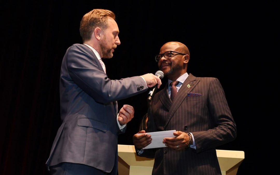 Envoy Mukwita wins Ambassador's award