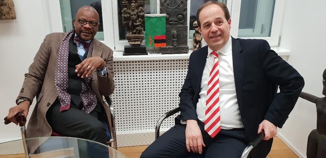 Austrian businessman donates to Esther Lungu Foundation Trust