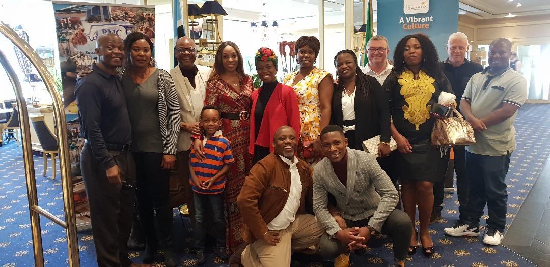 Zambian diaspora cheers envoy