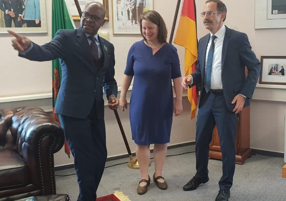 Germany is an all weather friend– Amb Mukwita