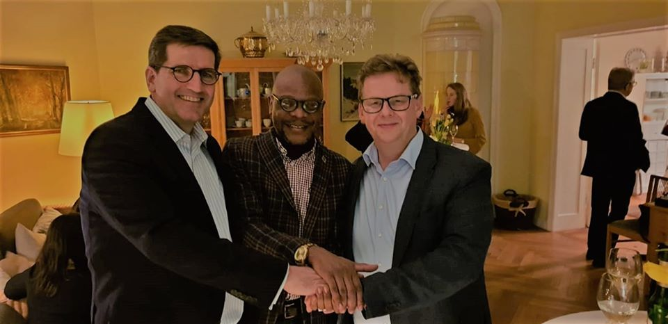 Ambassador Mukwita meets meat giant CEO's of Tönnies and Amatheon