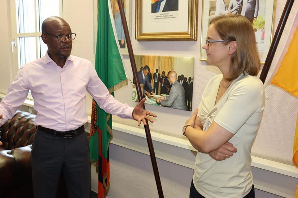 Welcoming Ambassador-Designate