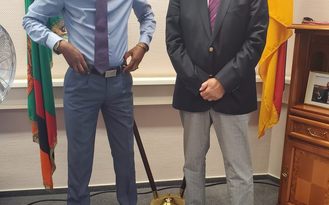 Ambassador Anthony Mukwita lauds German Philanthropist
