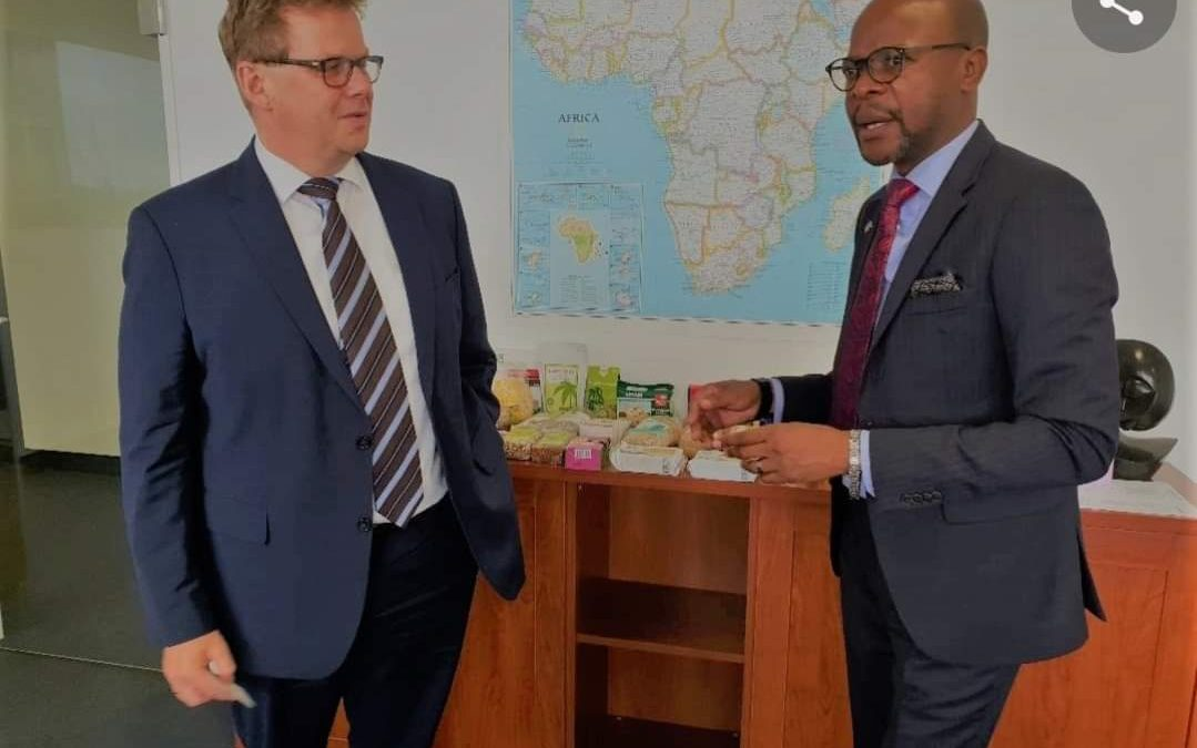 Amatheon places Zambian agro products on German shelves