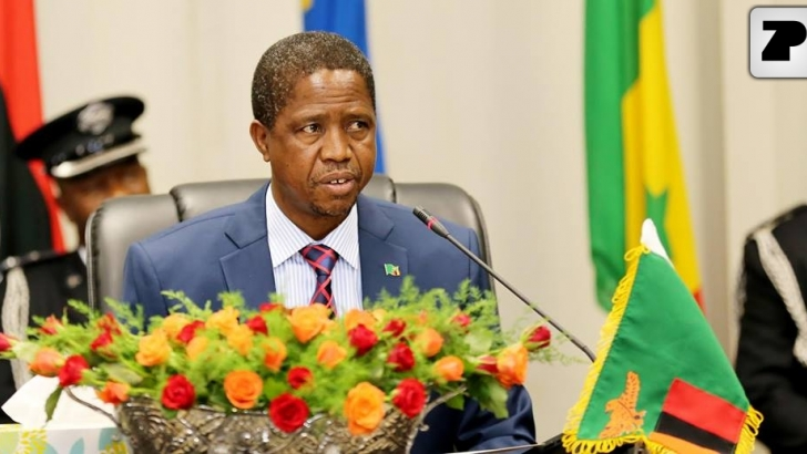 PRESIDENT OF THE REPUBLIC OF ZAMBIA ON THE EVE OF THE NEW YEAR