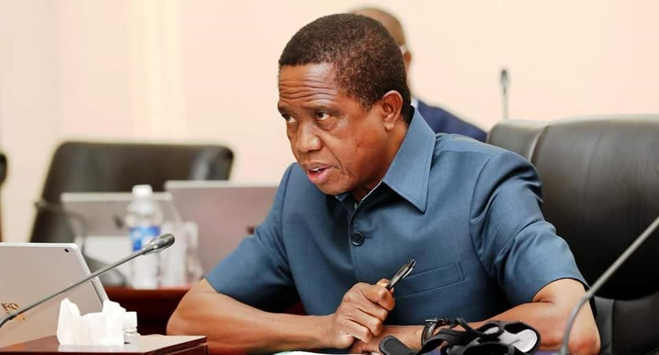 The other side of the Cyber Space as President Edgar Lungu signs new law