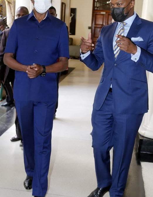 Lungu´s milestone economic diplomacy indaba with AfCFT chief Mene