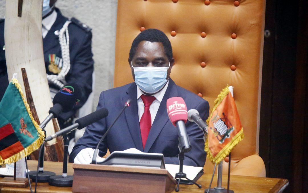 President Hichilema opens parliament